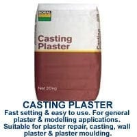 Casting Plaster Bagged Products