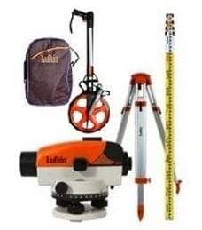 Survey Equipment Supplied by Saddingtons Building Supplies
