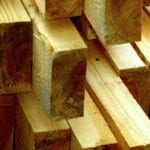 Treated Timber Product