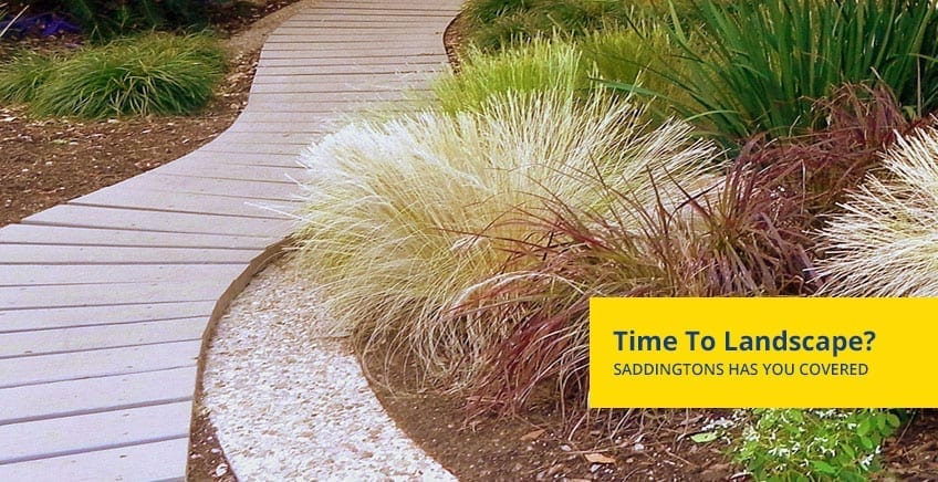 Landscape Supplies Newcastle, Saddingtons Landscaping