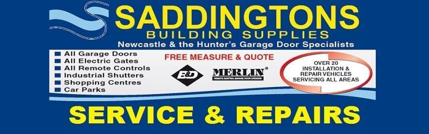 Garage Door Repairs Amp Servicing In Newcastle Saddingtons