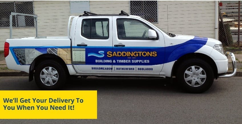 Saddingtons UTE Delivery Service