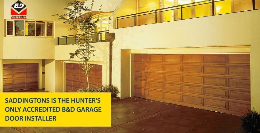Hunters Only Accredited B and D Garage Door Installer