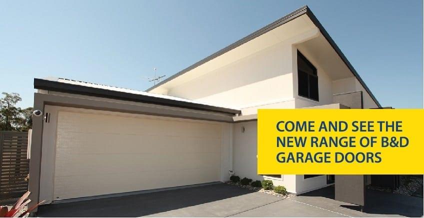 New Range B and D Garage Doors