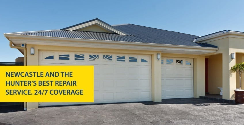 Garage Door Repairs Servicing In Newcastle Saddingtons