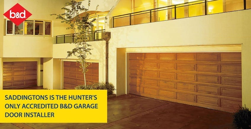 Hunters Accredited B D Garage Door Installer