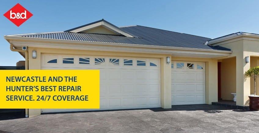 Garage doors newcastle sales installs repairs for Garage door repair service