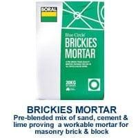 Boral Brickies Mortor