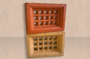 Terracotta Brick Vent Square