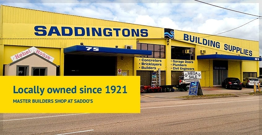 Saddingtons Building Supplies, Garage Doors, Landscaping, Timber & Hardware