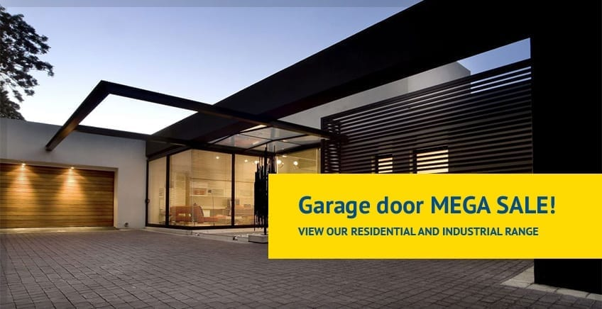 Saddingtons Garage Doors Newcastle MEGA SALE Residential and Industrial Doors