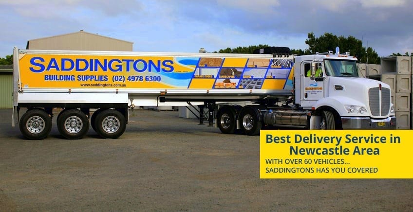UTE Delivery from Saddingtons