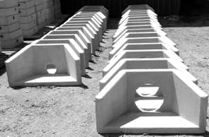 Concrete Pipe Headwalls Supplied by Saddingtons
