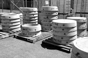 Sewer Manhole Make Rings Mastics supplied by Saddingtons