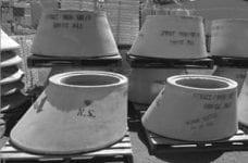 Concrete Sewage Cones, Manhole Lids/Surrounds