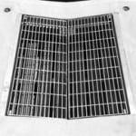 Hinged V Grate Supplied by Saddingtons Building Supplies