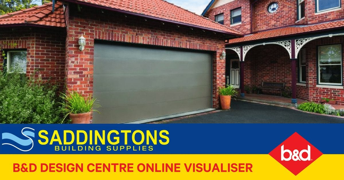 Explore your garage door options with our Online Visualiser